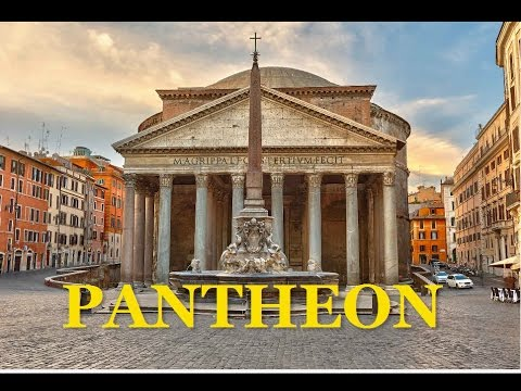 THE PANTHEON of ROME ITALY TOUR 6 22 13