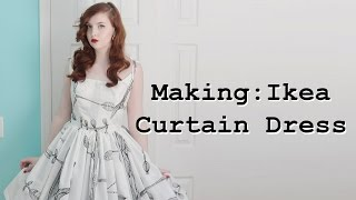 Download Making a Dress From Curtains - Part Two Mp3 and Videos
