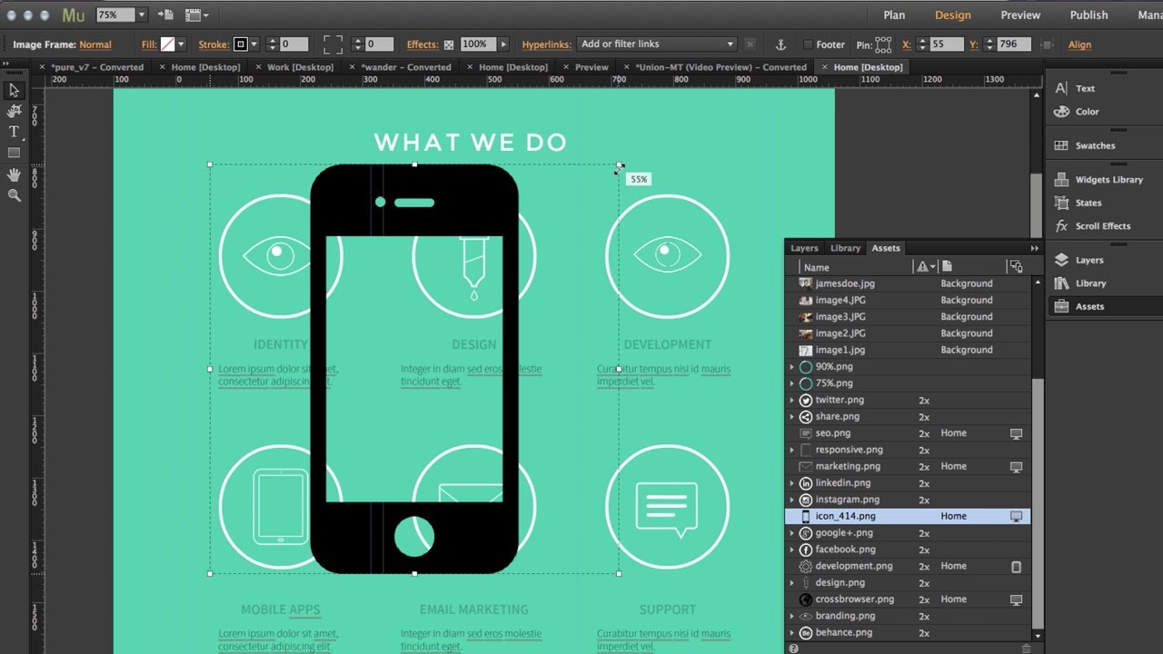 Adobe Muse CC 2014 - Retina Display Graphics | Top 8 New Features by  MuseThemes com