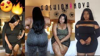 Plus Size Fashion Nova Curve Date Night Try On Haul   Victoria Lashay