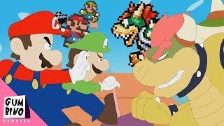Super Mario and Luigi vs Bowser - NINTENDO SMASH RAP BATTLES