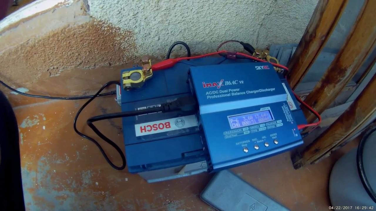 Как зарядить аккумулятор зарядным устройством SkyRC с алиэкспресс