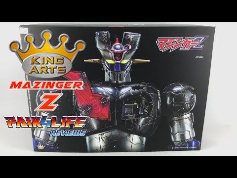 Super Robots Review: King Arts DFS065 Mazinger Z // P4L Reviews