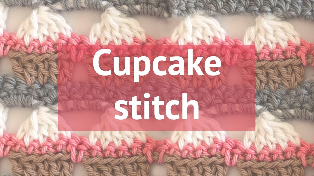 How to crochet a cupcake stitch youtube bankloansurffo Images