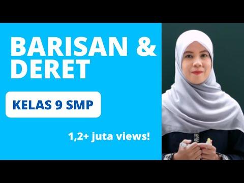 Quipper Video - Barisan dan Deret - Persiapan UN Matematika SMP 2017
