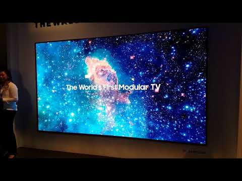Samsung 'The Wall' Micro-LED mit 146 Zoll (CES 2018)