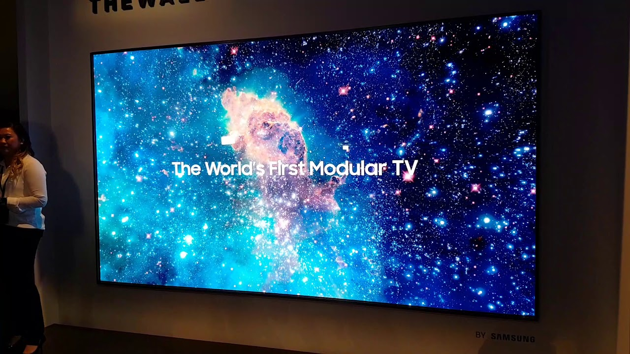 "Samsung ""The Wall"" Micro-LED mit 146 Zoll (CES 2018) - YouTube"