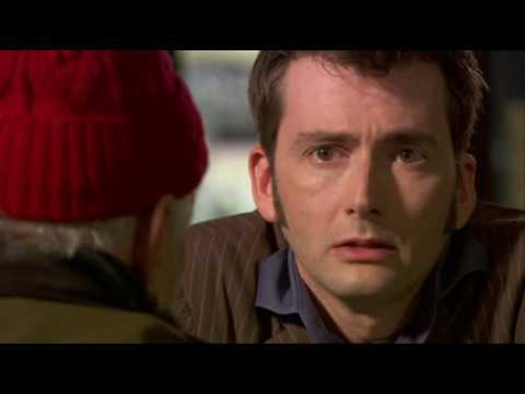 Doctor Who: The End of Time, part 1  The Doctor & Wilf cafe