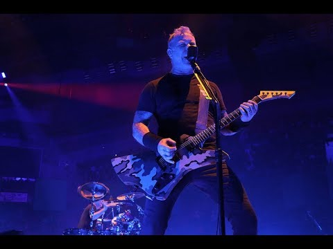 Metallica Live Madrid, Spain 2018 - Full Concert - E Tuning