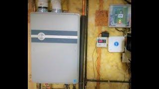 Rheem tankless water heater error code 12 burner cleaning
