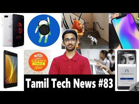 Tamil Tech News #83 - Free OnePlus, Budget iPhone X, AR Core, Intel Pentium Silver & Celeron,IntexE6