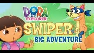 Dora the Explorer Swiper's Big Adventure - Dora and Friends Full Cartoon Game