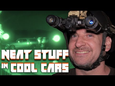 What It's Like To Drive With Night Vision Goggles | Neat Stuff in Cool Cars