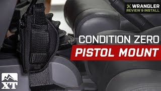 Jeep Wrangler Condition Zero Pistol Mount (2007-2018 JK 4 Door) Review & Install
