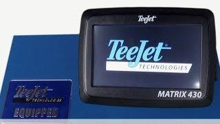 TeeJet MATRIX 430 - urządzenie nawigacyjne