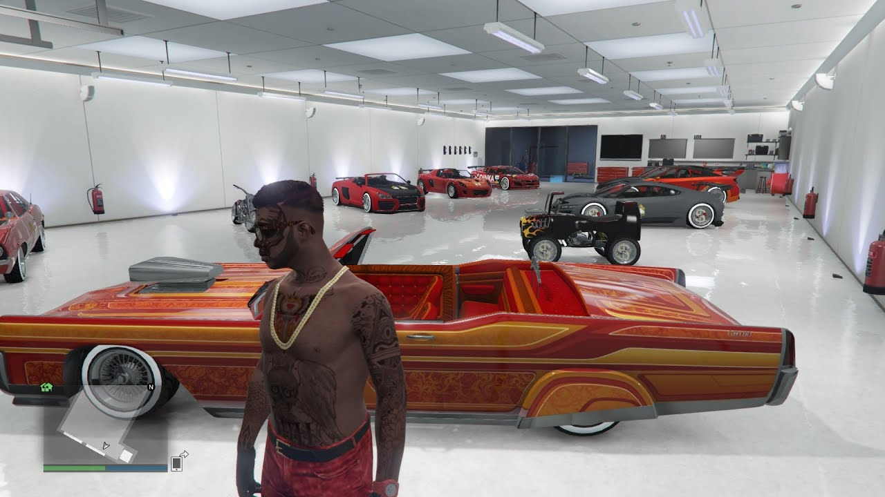 Gta 5 online 50 000 000 best cars garage tour gta v for Top garage vitrolles