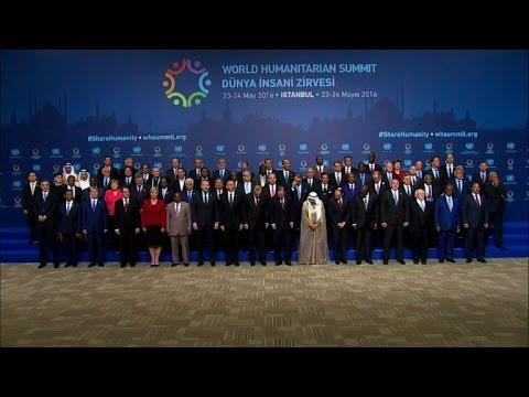 UN-backed humanitarian summit opens in Istanbul