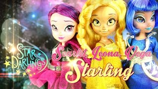 Doll Review: Disney Star Darlings - Scarlet, Leona & Vega Starling
