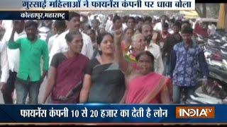 Finance Company Office Vandalized by Women Customers in Kolhapur