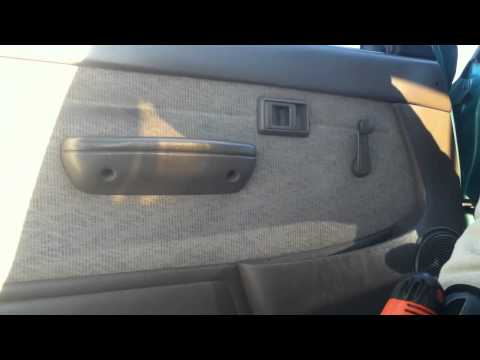 How To Install Replace Remove Front Door Panel Toyota T