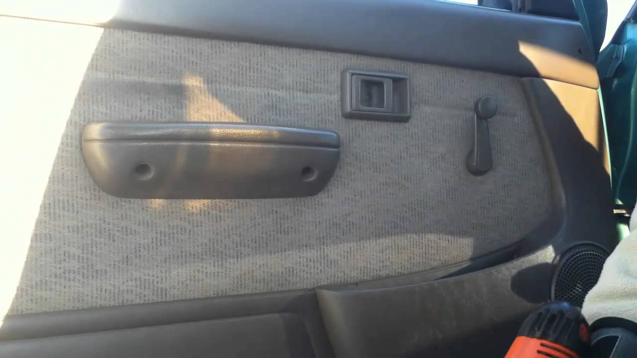 toyota tacoma door panel removal youtube