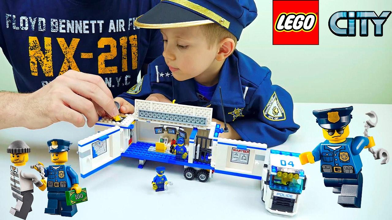 Лего Сити все серии подряд - Лего Полиция. Лего Нексо Найтс. Лего Исследователи Вулканов