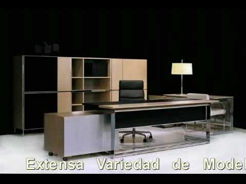 Muebles de oficina mobiliario de direccion video 1 for Muebles de oficina 1
