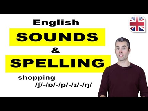English Sounds And Spelling