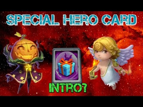 Castle Clash Special Hero Card!!!