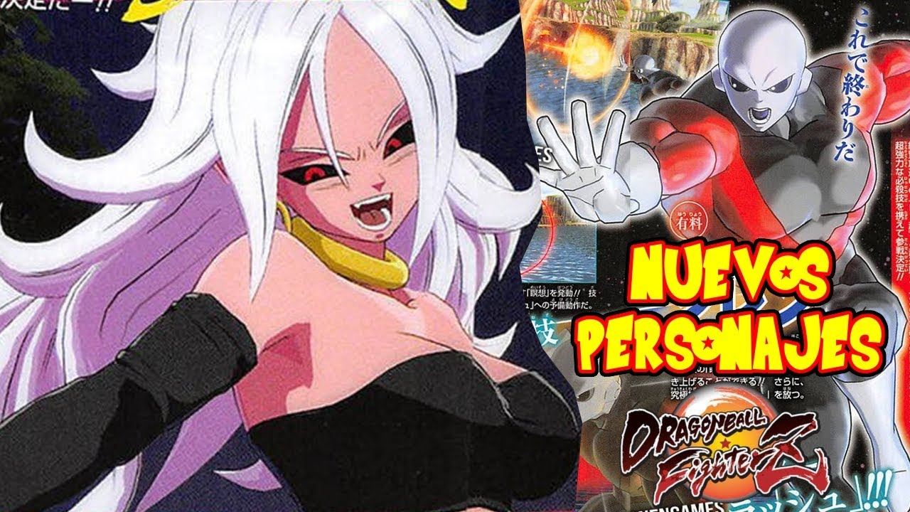 Nuevos personajes confirmados en dragon ball fighter z y - Dragon ball z 21 ...