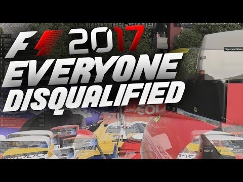 F1 2017 - EVERYONE DISQUALIFIED
