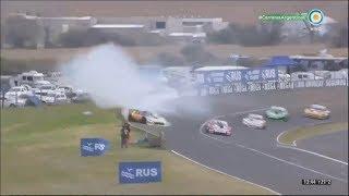 ACTC (TC) 2017. Final Autódromo Ciudad de Paraná. Hard Crash