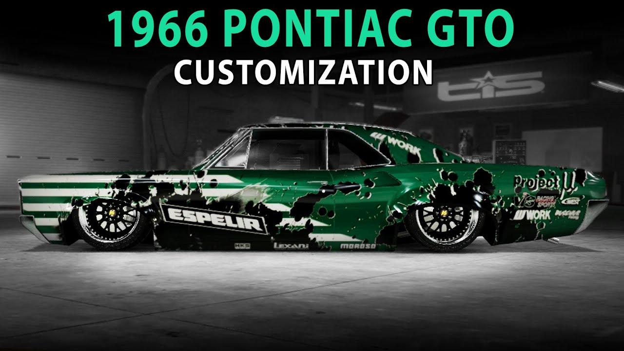 Gto Muscle Car Wallpaper Midnight Club La 1966 Pontiac Gto Nfs Pro Street