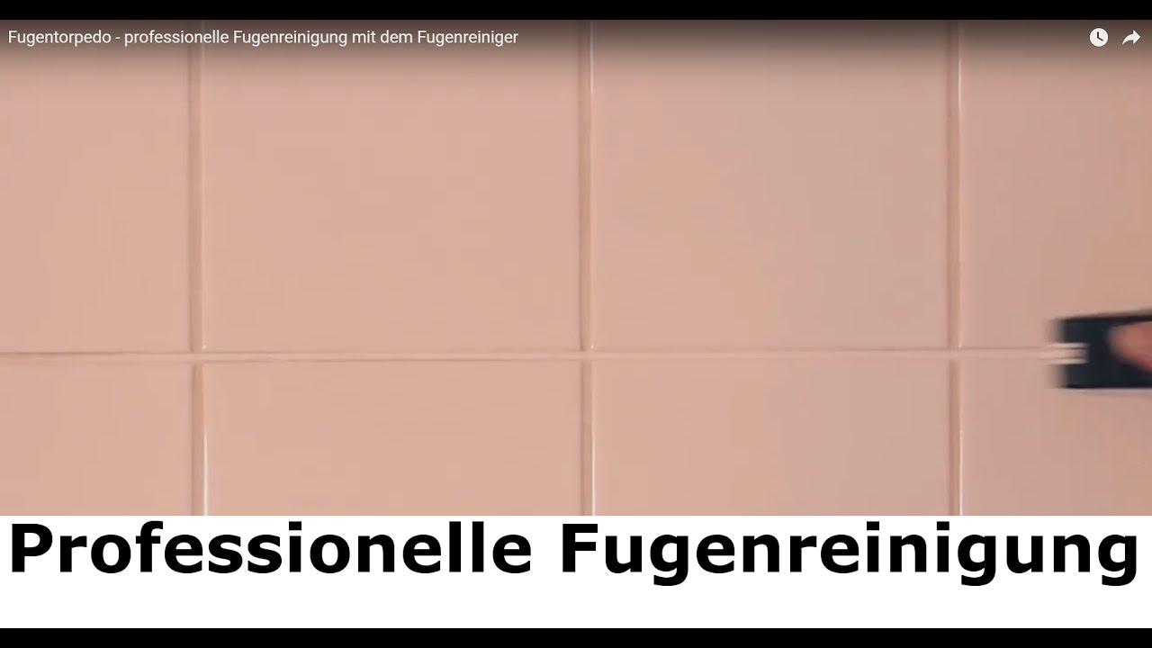 ✅✅ Badezimmerfugen reinigen mit dem Fugenreiniger Fugentorpedo ...
