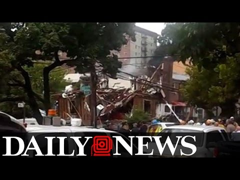 Explosion Rips Through Bronx House And Police Suspect Drug Lab