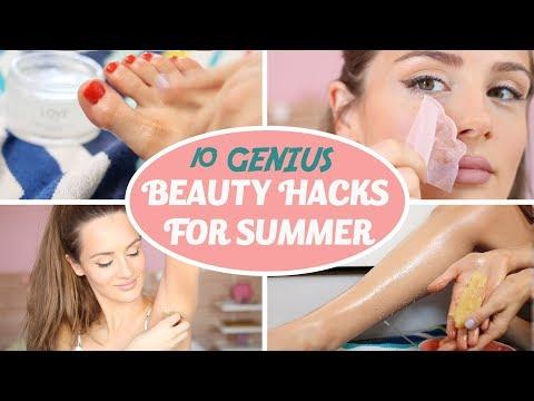 10 SUMMER BEAUTY HACKS You Need To Know in 2019 - Shaving Hacks, Makeup Hacks, DIY  | PEACHY