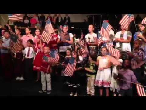 CT Kids Sing Patriotic Songs