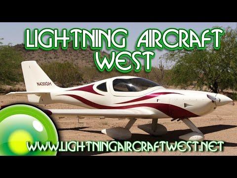 Lightning LSA, Lightning Aircraft West Arion Aircraft Lightning at US Flight Expo 2017