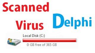 3 # Hard drive Killer (Virus Tutorial) ( Scaned with AVG) [Delphi]