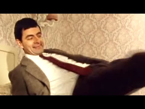 Mr Bean - Hotel room and TV