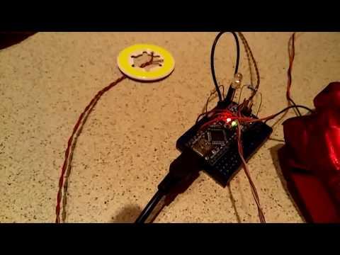 Steel Iron Man MK IV build #45 - Repulsor control, sound coding and testing.