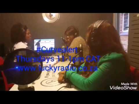 My radio show Curvealert on Luckyradio mandylerato interviewing muscian Zameka