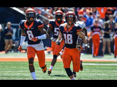 Illini Football Highlights vs Ball State 9/2/17