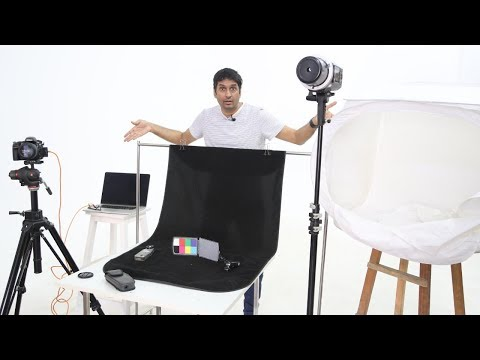 Product Photography Setup At Home