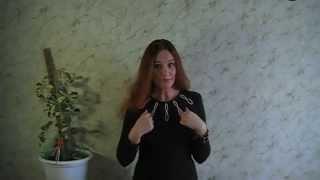 I am a woman, and therefore I am an actress! The poem read Julia Safonova - Konovalova.