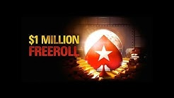 $1 Million Dollar Freeroll 20 March 2016: Final Table Replay - PokerStars