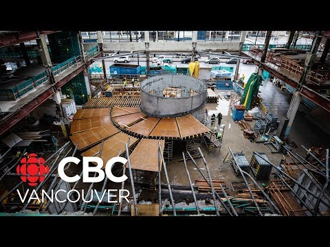 A Look Inside The Gutted Canada Post Building In Vancouver