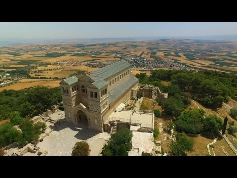 Church Of The Transfiguration On Mount Tabor, Israel