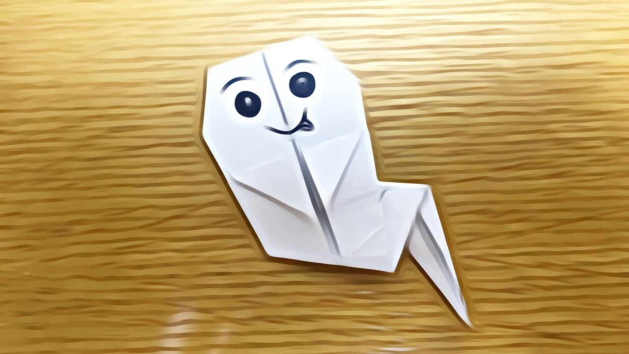 Ghost origami tutorial halloween origami youtube ghost origami tutorial halloween origami jeuxipadfo Gallery