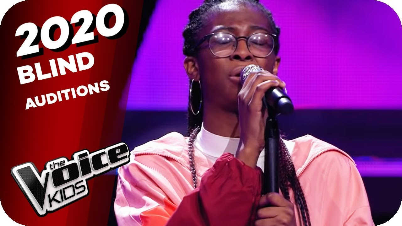 Rebecca Ferguson - Teach Me How To Be Loved (Daniella) | The Voice Kids 2020 | Blind Auditions